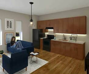 Kitchen, Intrada Apartments