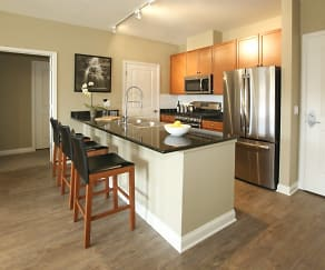 Kitchen, ALOFT Apartments