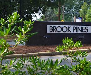 Community Signage, Brook Pines