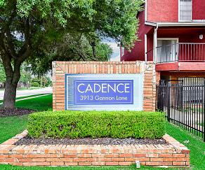 Community Signage, Cadence