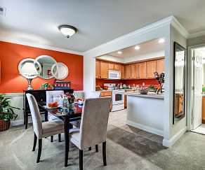 Dining Room, Townline Townhomes