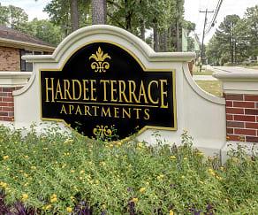 Community Signage, Hardee Terrace Apartments