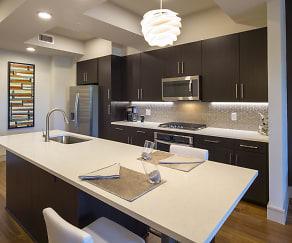 Kitchen, 2626 Lofts at Uptown
