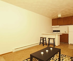 Living Room, Parkside Apartments