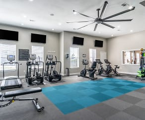 Brand New Fitness Center, Fortress Grove Apartments