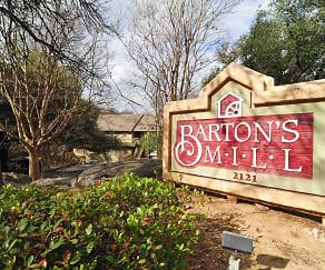 Community Signage, Barton's Mill