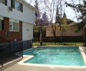 Pool, Eaton Village Apartments