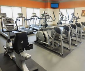 Fitness Weight Room, Cumberland Place Apartment Homes