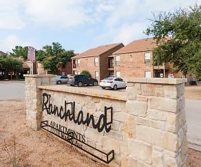 Community Signage, Ranchland Apartments