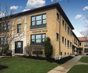 Building, Campion Hall Apartments
