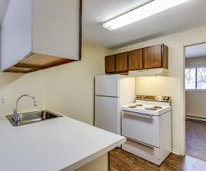 Kitchen, Winchester Apartments