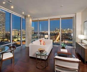 Living Room, 77007 Luxury Properties
