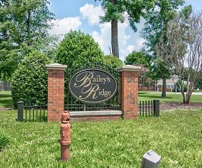 Community Signage, Bailey's Ridge