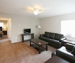 Living Room, Moran Apartments