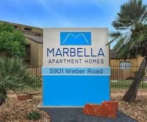 Community Signage, Marbella Apartment Homes
