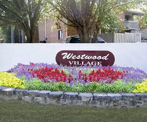 Community Signage, Westwood Village