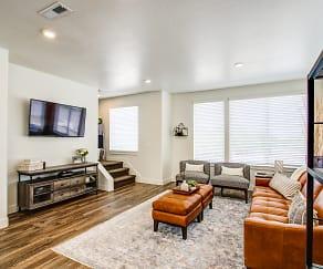 Living Room, Aero Luxury Townhomes