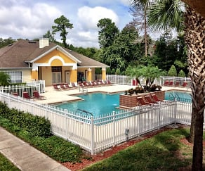 Pool, Boardwalk At Alafaya