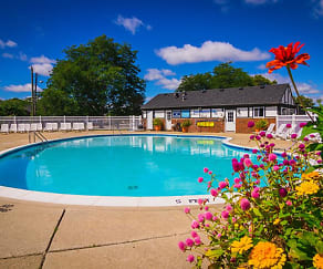 Pool, Maple Creek Apartments