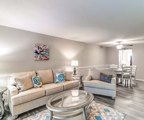 Living Room, PROSPER Azalea City