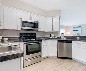 Kitchen, ONYX LUXURY APARTMENTS