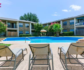 Pool, Colony Apartments