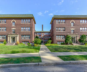 Building, Cleveland Heights/University Circle Area Apartments