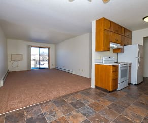 Betty Ann Apartments - 2 Bdrm - Dining-Living Rm, River North Apartments