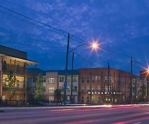 Building, Columbia Mechanicsville