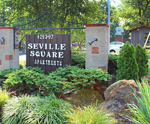 Community Signage, Seville Square