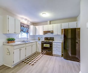 Kitchen, Wynsum Townhomes