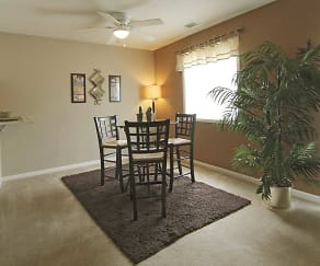 Dining Room, Beech Grove Village Apartments