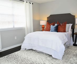 Bedroom, Brandywine Townhomes