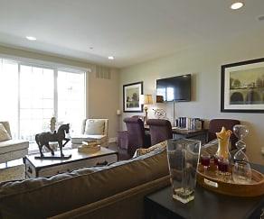 Living Room, Pennsauken Golf Course Villas