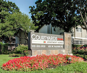 Community Signage, Courtyards of Roses