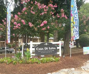 Community Signage, Casa De Luna