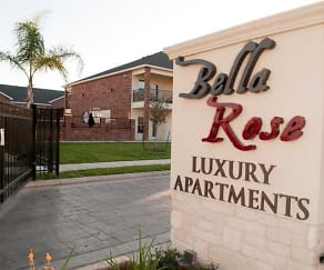 Community Signage, Bella Rose Luxury Apartments