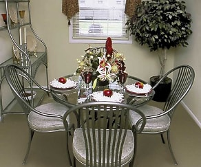 Dining Room, Rockdale Gardens Apartments