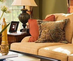 Living Room, Lakewood Apartments