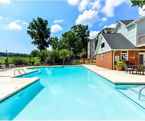 Pool, The Clarion Apartments
