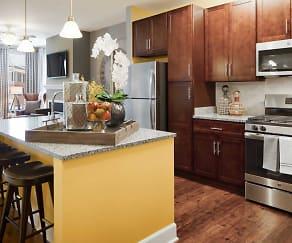 Kitchen, Creekstone Village Apartments