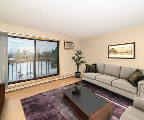 Living Room, Maple Ridge Apartment Homes