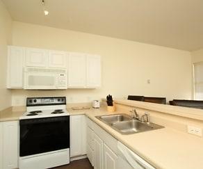 Kitchen, Greystone Lofts at Reynolds Road