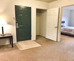 Foyer, Entryway, Goodrick-Spencer Apartments and Scruggs Townhomes