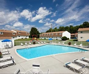 Pool, Tanglewood Apartments