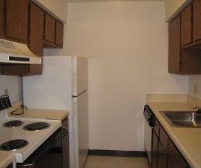 Kitchen, Laurel Hills Apartments