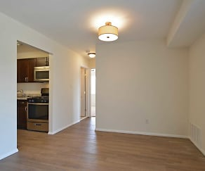 Dining Room, Abbey Square Apartments