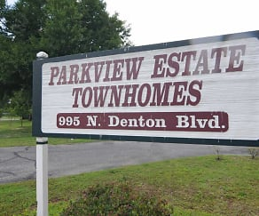Community Signage, Parkview Estates
