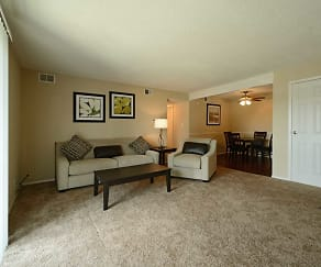 Living Room, Reserve at South Pointe