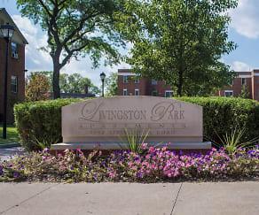 Community Signage, Livingston Park Apartments